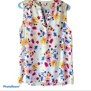 Chaus Colorful Floral Tank | Small